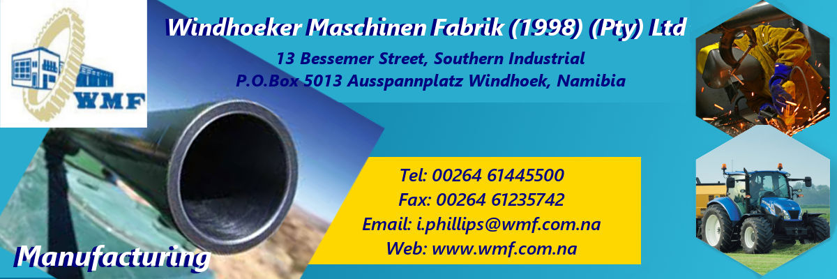 Windhoeker Maschinen Fabrik (1998) (Pty) Ltd Advert2